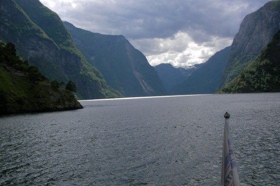На кораблике по фьорду