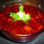 суп-свекольник