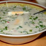 Окрошка - холодный летний суп