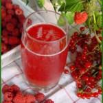 ягодный квас
