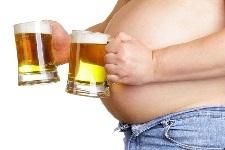 пивной живот у мужчин